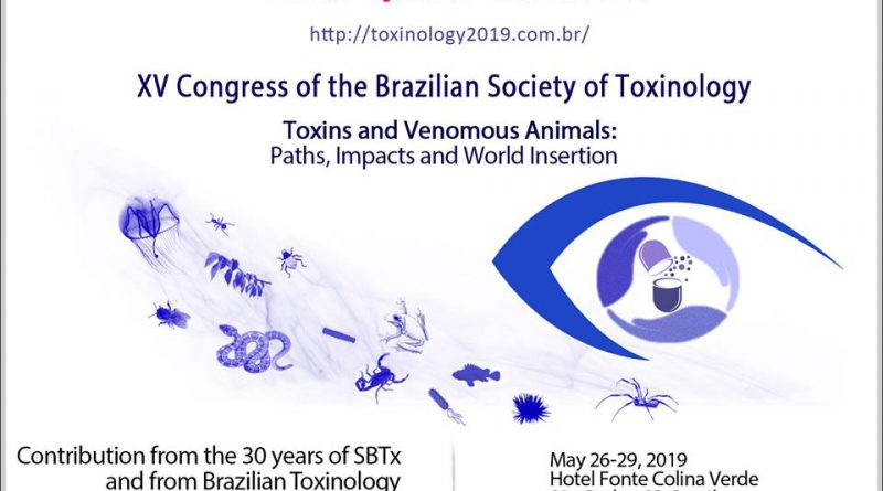 XV CONGRESS OF THE BRAZILIAN SOCIETY OF TOXINOLOGY